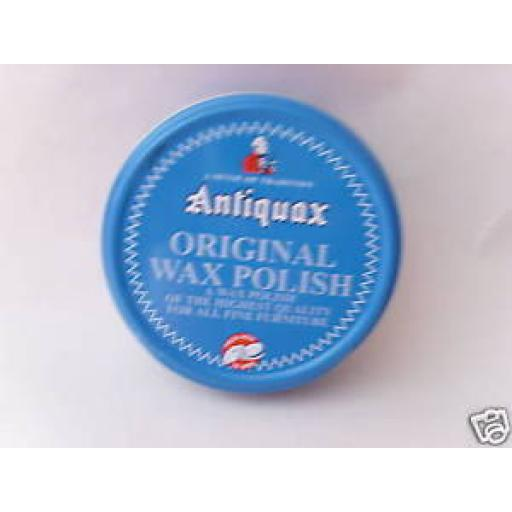 New Antiquax Original Solid Wax Furniture Polish 100ml