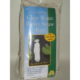 New Agralan Clear Water Barley Straw Bags Clears Pond Algae Pk2 HA97