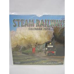New Salmon Calendars Wall Calendar Steam Railways 2018 Large