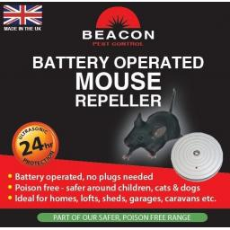 New Rentokil Beacon Battery Operated Mouse Repeller FM98