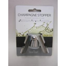 New Kitchen Craft Bar Craft Champagne And Sparkling Wine Stopper KCBCCHAMSTOP