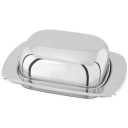 New Judge Stainless Steel Margarine Spreads Domed Butter Holder Dish 500g TC156