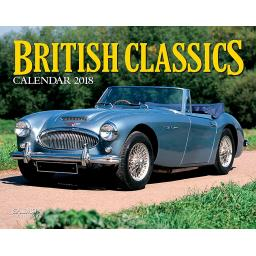New Salmon Calendars Wall Calendar 2018 British Classics Cars