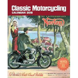 New Salmon Calendars Wall Calendar 2018 Classic Motorcycling