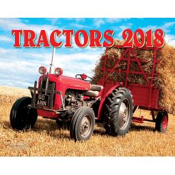 New Salmon Calendars Wall Calendar 2018 Tractors