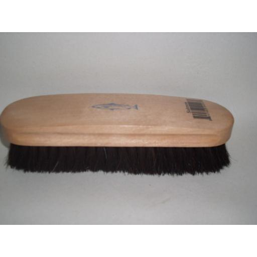 New Salmon Cleaning Shoe Polishing Polish Brush Wood Back Pure Bristle Large