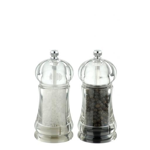 New DMD David Mason Salt And Pepper President Mill Set DM1021106000SET Acylic