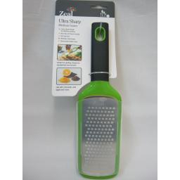 New Zeal Ultra Sharp Medium Hand Held Grater Laser Etched Blade H72