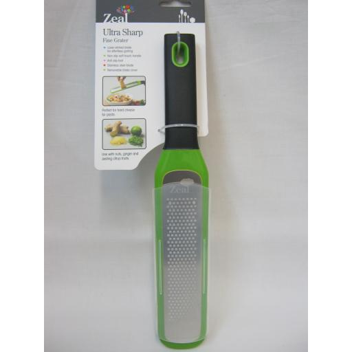 New Zeal Ultra Sharp Fine Hand Held Grater Laser Etched Blade H71