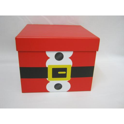 New Christmas Present Santa Novelty Stacking Boxes Set Of 3 X-25266-BX