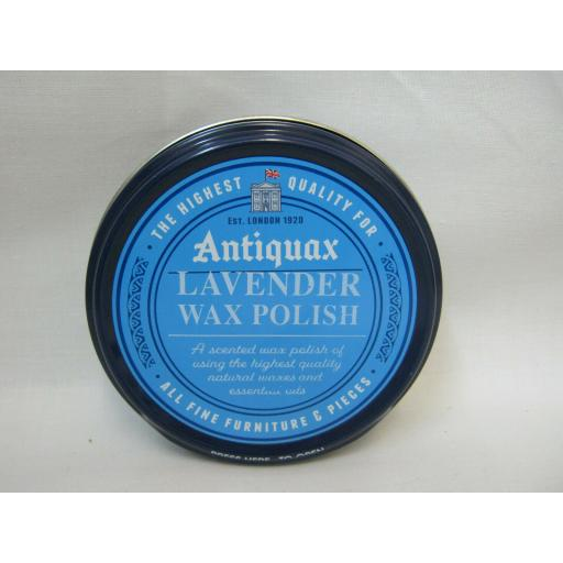 New Antiquax Lavender Wax Furniture Polish 100ml