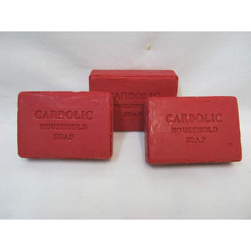 New Falcon Traditional Red Carbolic Household Soap Pk 3