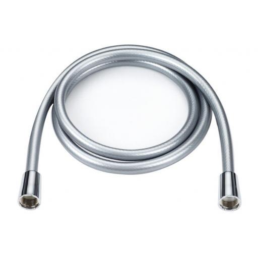 New Blue Canyon PVC Shower Hose 1.5m Silver SH-H22