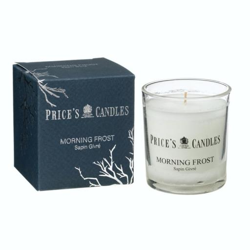 New Prices Scented Candle Glass Jar Morning Frost LBJ010684