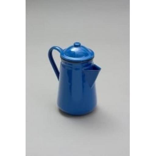 New Falcon Blue Enamel 13cm 1.25ltr Coffee Pot Camping 62013BL