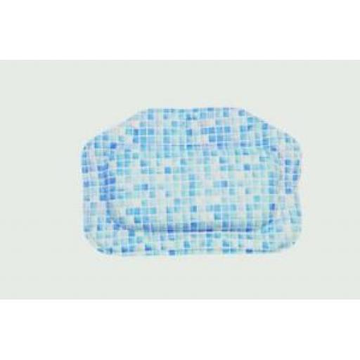 Croydex Bath Pillow Blue Mosaic Design BG207084H