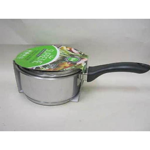 Pendeford Supreme Induction Stainless Steel Sauce Pan And Lid 16cm