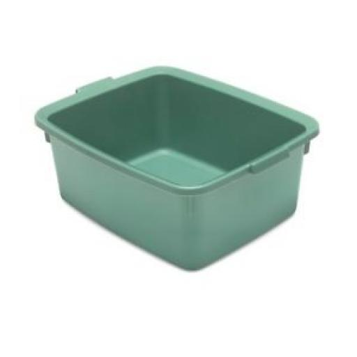 Addis Oblong Plastic Washing Up Bowl 42cm Large 16.5 Inch 5 Star Sage Green