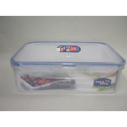 Lock and & Lock Rectangular Sandwich Box Food Container 1.6L HPL824