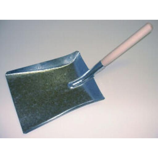Sorby Hutton Galvanised Metal Wood Handled Shovel A017