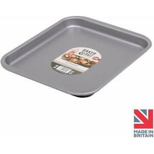 Baker And Salt Large Oven Tray Tin 41cm Non Stick 55650