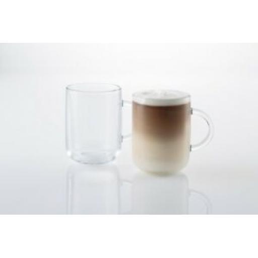 Ravenhead Entertain Set Of Glass Mugs Coffee Glasses 31CL Pk2