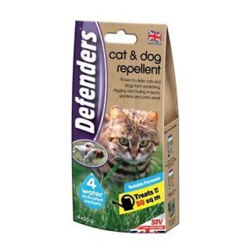 Defenders Cat Repellent Soluble Formula Deters Digging Fouling Pk2 STV626