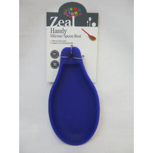 Zeal Handy Silicone Spoon Rest J149 Purple