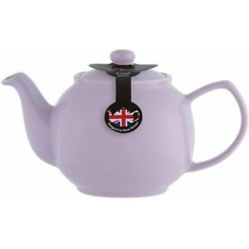 Price And Kensington Pot Teapot 6 Cup Tea Pot 0056.784 Lilac Lavender