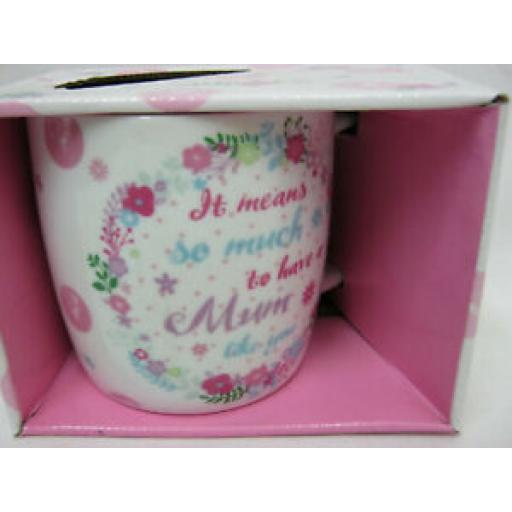 BGC Fine China Mug Coffee Cup Mum Like You KL0013-1