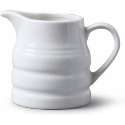 Bartleet Pot Mini Small Churn Cream Milk Jug White 135ml T359