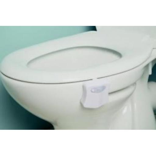 Croydex Colour Changing Toilet Pan Night Light Battery Operated AJ100122E