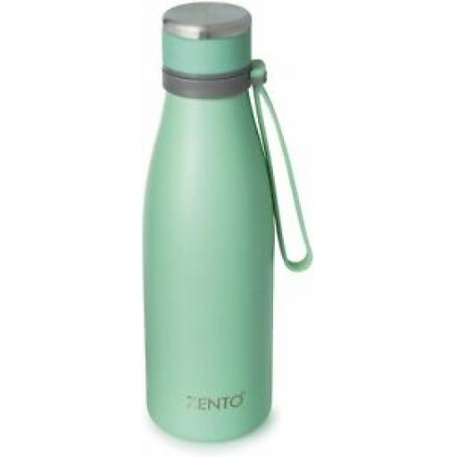 Casa & Casa Zento Zenith Stainless Steel Water Bottle Mint 550ml