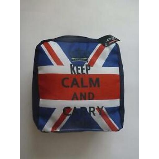 Supahome Fabric Door Stop Doorstop Union Jack Keep Calm And Carry On SHDS10