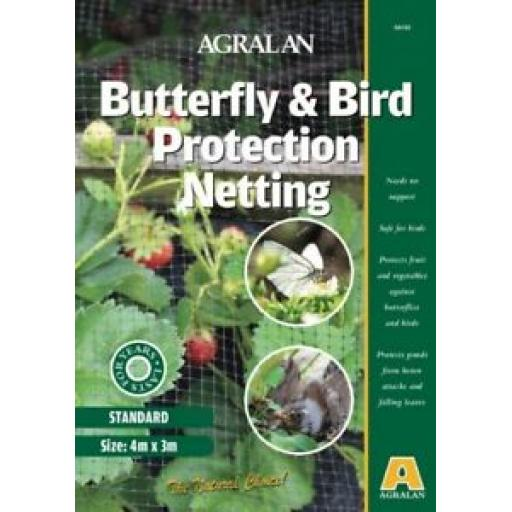 Agralan Butterfly And Bird Protective Netting Protects Fruit And Veg HA160