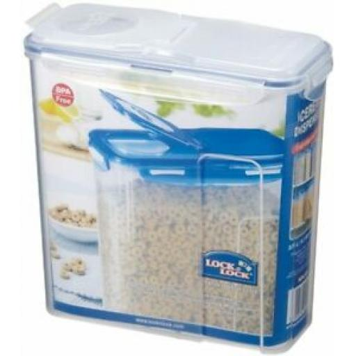 Lock and & Lock Cereal Dispenser 3.9L Food Container HPL951