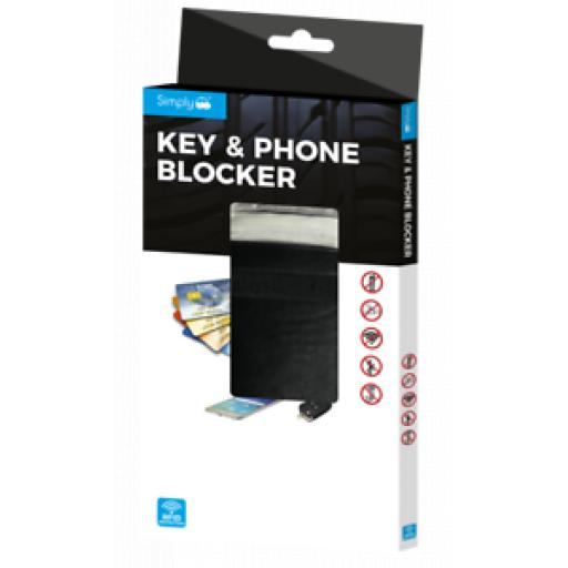 Simply Key And Phone Signal Blocker Pouch Wallet RFID01