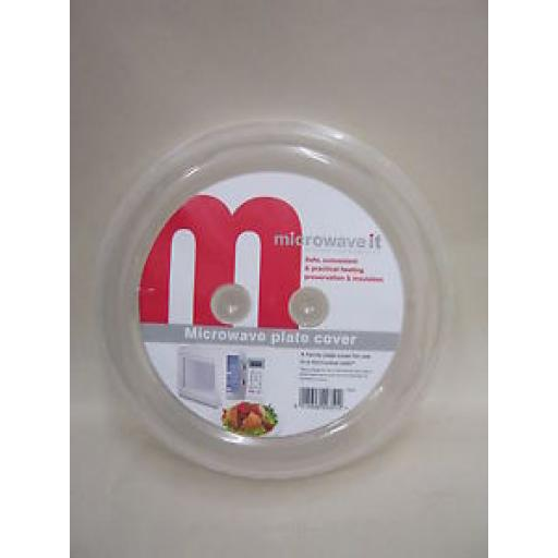 Microwave It Microwave Oven Plate Cover With Vents PP351