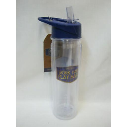 Lesser And Pavey Hydration Water Drinks Bottle Gents Society 550ml LP43980