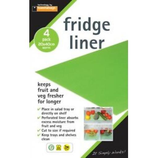 Toastabags Fridge Liners Keeps Fruit And Veg Fresher For Longer Pack 4