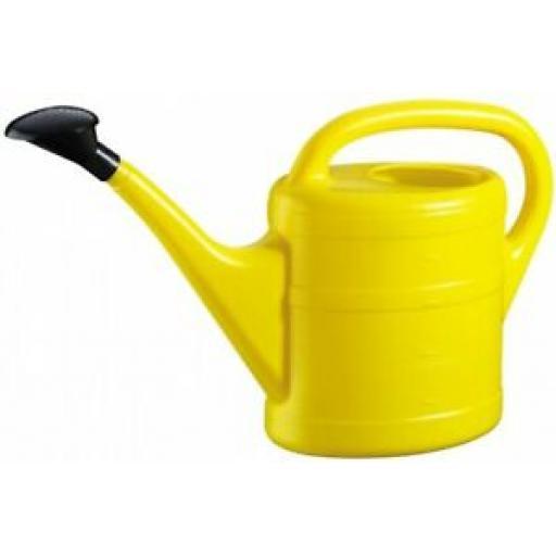 Geli Green Wash Essentials Plastic Watering Can Yellow 5 Litre 70200502