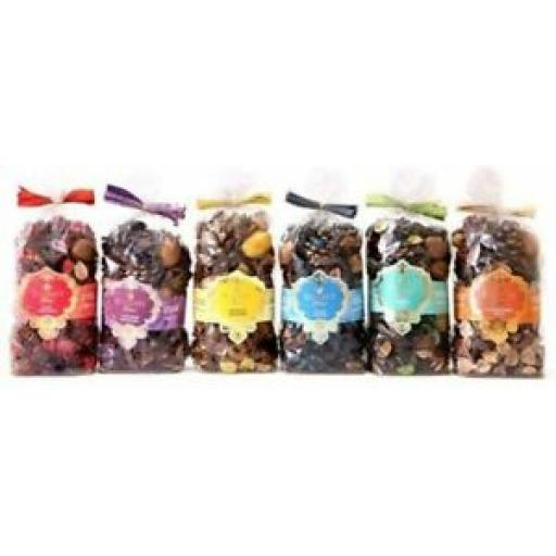 6 X Sifcom Scented Potpourri 200g Esscents Fragrant Assorted Scent