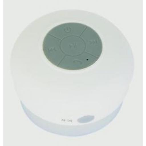 Croydex Bluetooth Shower Speaker Play Music And Voice Calls PA160122E