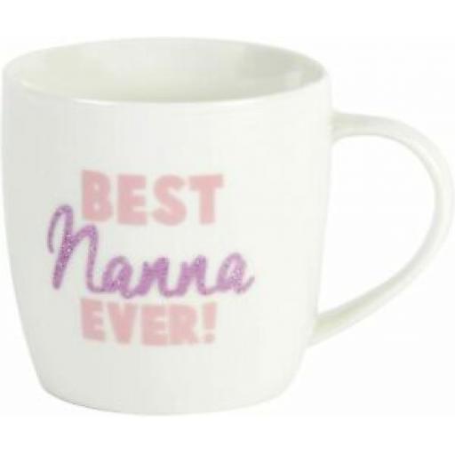 Widdop Ceramic Coffee Tea Mug Best Nanna Ever CM306