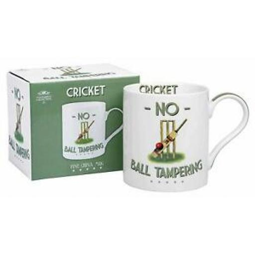 Lesser And Pavey Mug Beaker Coffee Tea Cup Cricket No Ball Tampering LP93573