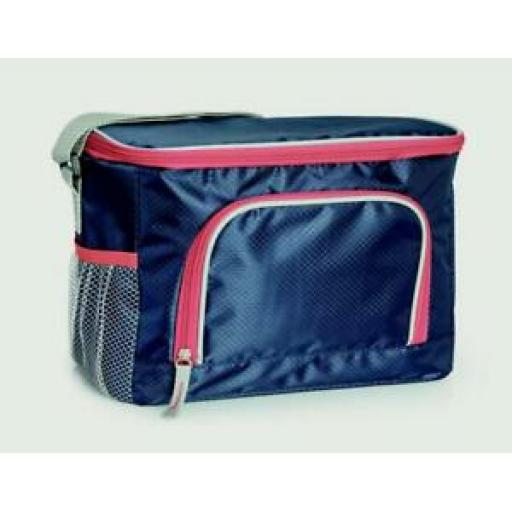 Zento Elite Insulated Cooler Cool Bag 24 Can 16 Litre Navy 13304