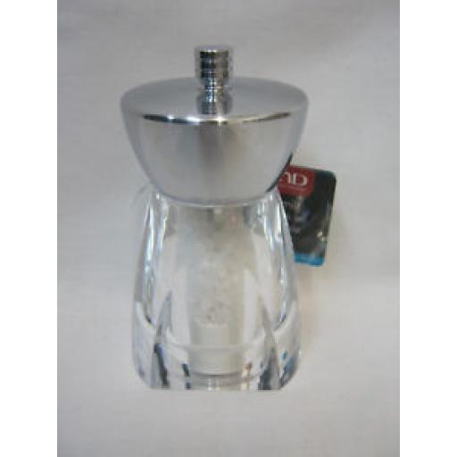 DMD David Mason Stella Salt Mill Clear Acrylic Body Chrome Top DM5009102991SM