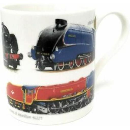 Lesser And Pavey Mug Beaker Coffee Tea Cup Classic Train LP99881