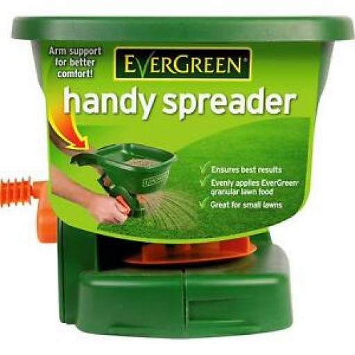 Scotts Evergreen Handy Spreader Great For Small Gardens 017990