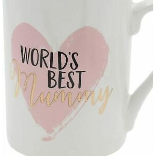 Widdop Ceramic Mug Beaker Coffee Tea Cup World's Best Mummy TM336MY